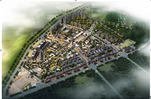 贵州正安白茶古镇建筑设计正式方案第一阶段于近期全部按约完成