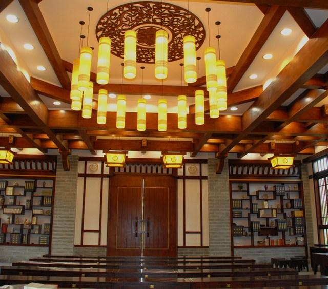 3-2成都文翁实验学校讲学堂-成都亚林古建筑设计有限
