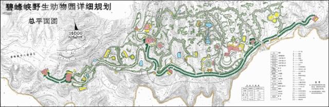 由于碧峰峡野生动物园的规划设计成功